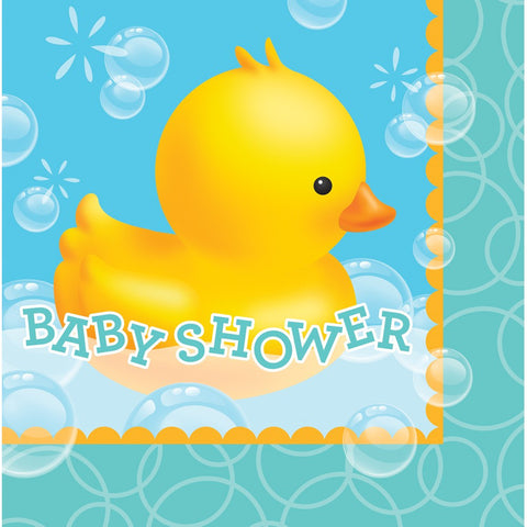Bubble Bath 2 Ply Lunch Napkins Baby Shower/Case of 192