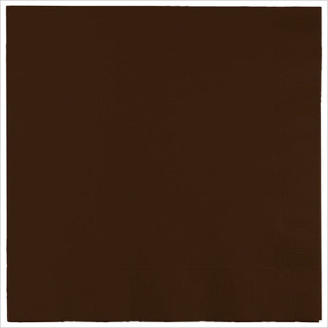 2 Ply Lunch Napkins Chocolate Brown/Case of 600