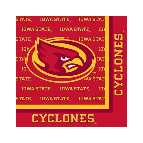 Iowa State Univ 2 Ply Lunch Napkins/Case of 240