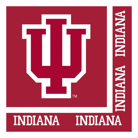 Indiana University 2 Ply Lunch Napkins/Case of 240