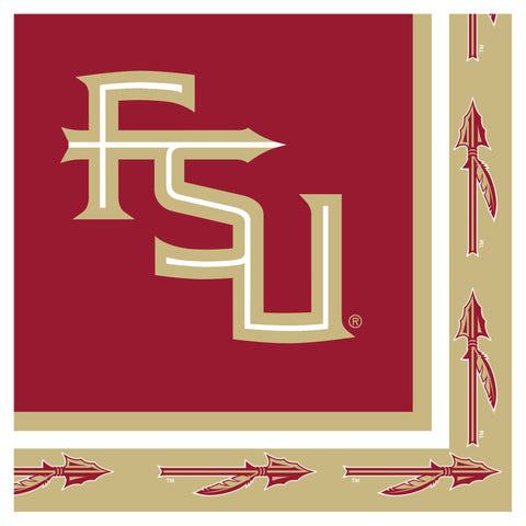 Florida State Univ Lunch Napkins/Case of 240