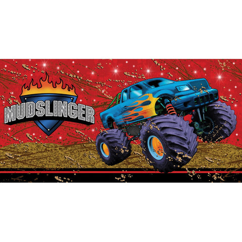 Mudslinger 54 x 108 Plastic Tablecover Border Print/Case of 6