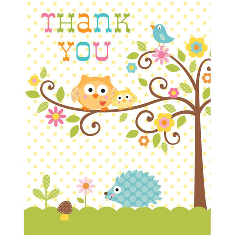 Thank You Cards Happi Tree/Case of 48