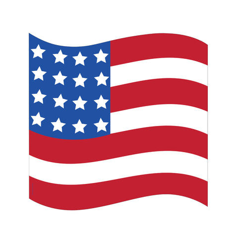 16 Shaped Flag Cutout/Case of 12