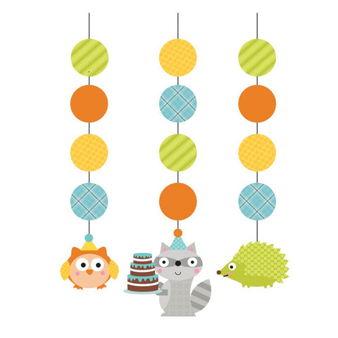 Happi Woodland Boy 36 inch Hanging Cutouts/Case of 18