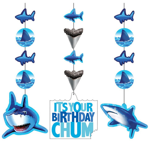 Hanging Cutouts Shark Splash/Case of 18
