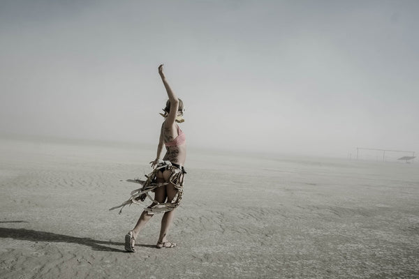 """Alone"" Série Burning Man - Eric Bouvet"