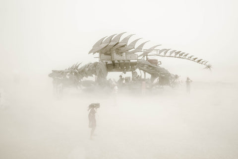 "Série Burning Man - ""Dragon"""