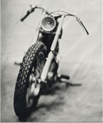 """THE GHOST BIKE"" - Série ART OF RIDE - Photographie de Bernard Testemale"