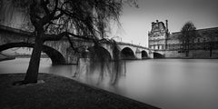"Série City of Light - ""Willow, Royal Bridge and Louvre"""