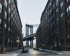 """Brooklyn Bridge"" - Ville déserte"