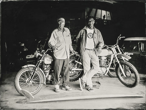 """Bruce Brown & Robert August""- Série ART OF RIDE - Photographie de Bernard Testemale"