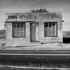 "Série Attractions Américaines ""Post office in Mojave desert"" photographie de Nicolas Auvray"