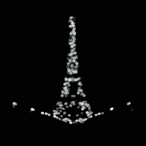 "Série Attractions nocturnes - Eiffel I ""Constellations"" Photographie de Nicolas Auvray"