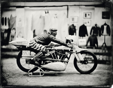"""Brian Bent Brough Superior""- Série ART OF RIDE - Photographie de Bernard Testemale"