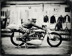 """Brian Bent Brough Superior""- ART OF RIDE photo de  Bernard Testemale"