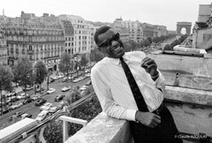 Ray Charles - Paris - 1961 -  PHOTOGRAPHIE DE CLAUDE AZOULAY