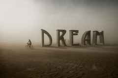 "Eric Bouvet photographie ""DREAM""- Série Burning man, Nevada 2012"