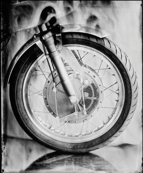 """THE BRAKE WHEEL"" - ART OF RIDE photographie de Bernard Testemale"