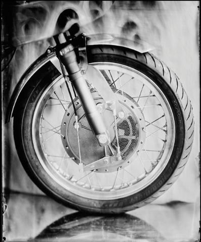 """THE BRAKE WHEEL"" - Série ART OF RIDE - Photographie de Bernard Testemale"