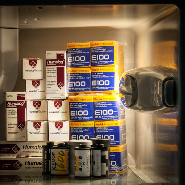 "My life in the Fridge - Série ""I LOVE MY DIABETES"" - Photographie de Clarisse Rebotier"