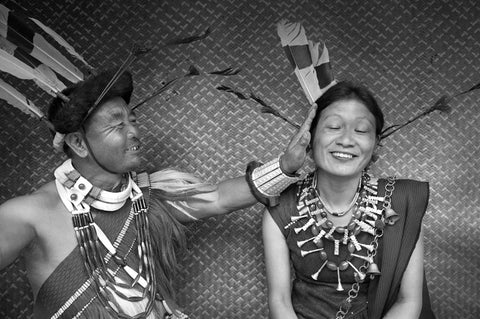 """Couple Naga"" Photographie de Yvan Travert"
