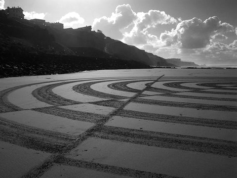 """Optic Circle"" photographie de Samuel Dougados - Beach Art"