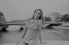 """Sharon Tate à Paris"" photographie de Jean-Claude Deutsch"