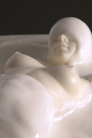 "Photographie ""Virginia Cream - Série Instant Sex food"" de Clarisse Rebotier"