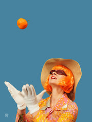 "Photographie Pop-Art ""Clementine"" de Paul Raynal"