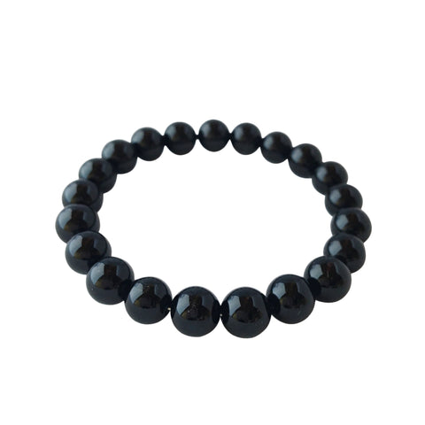 8mm Black Tourmaline Bracelet