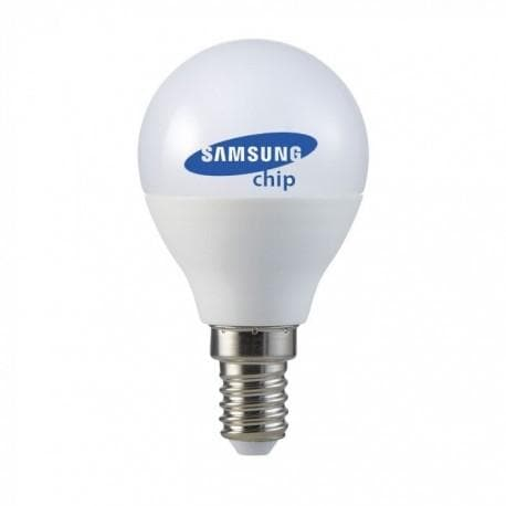 V-Tac 4,5W LED pære - Samsung LED chip, E14