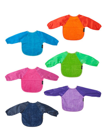 Mum2Mum Small Long Sleeve Bib | Baby & Toddler