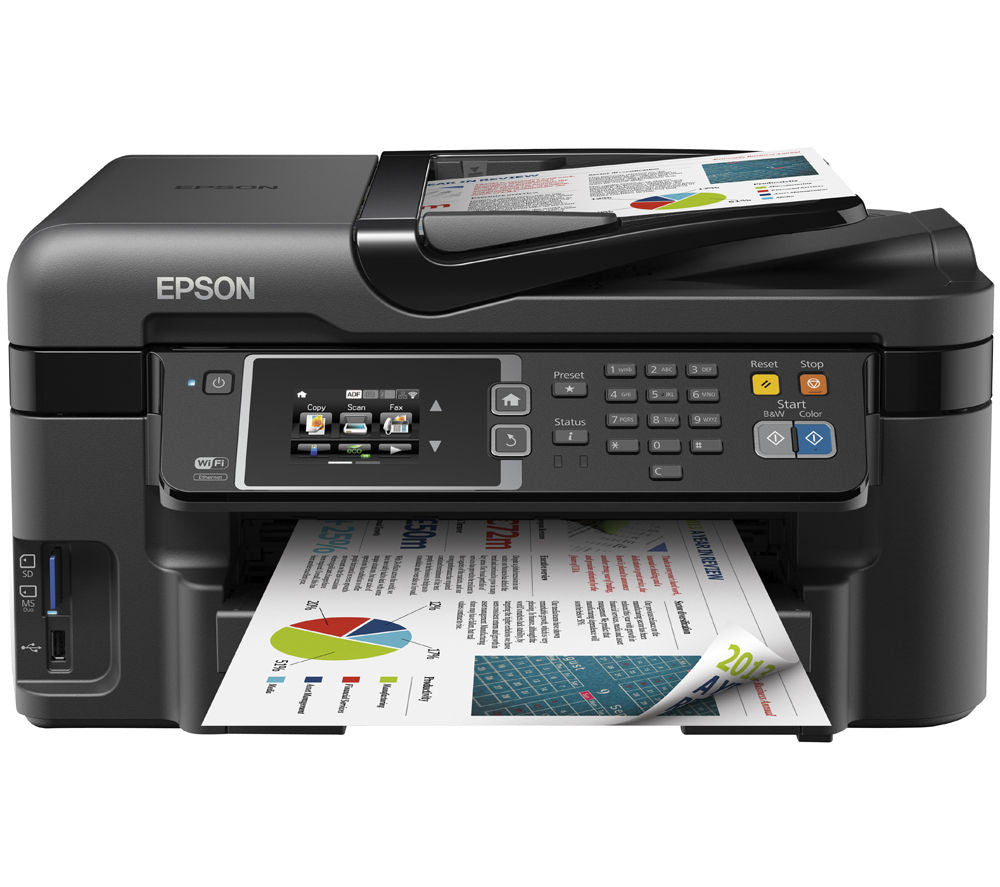 Epson Workforce WF-3620DWF Printer Review