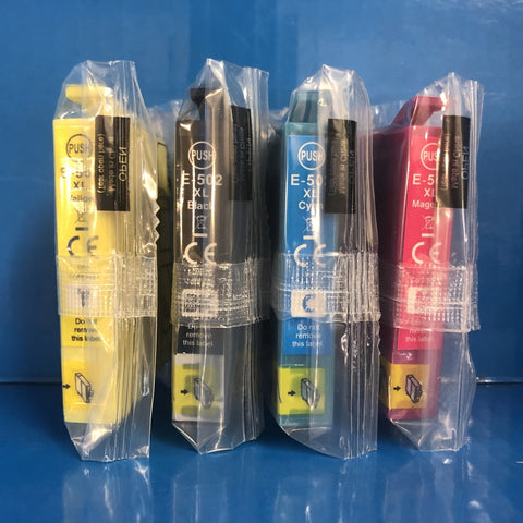 Replacement Epson 502 xl Ink Cartridges