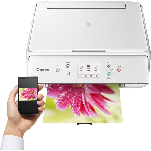 Canon Pixma TS6051 White Printer