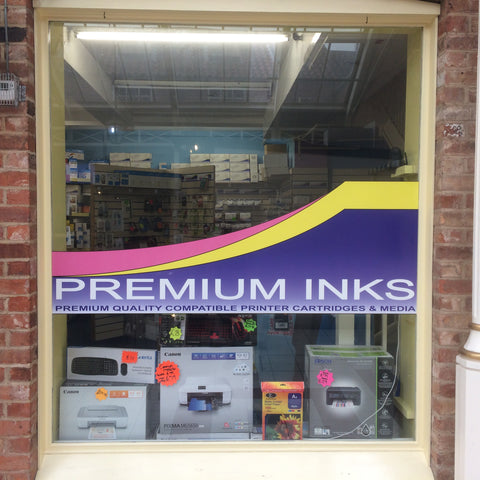 Shop Window Premium Inks Louth