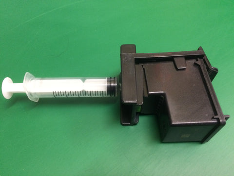 Refill clip suction tool for HP62 ink cartridges.