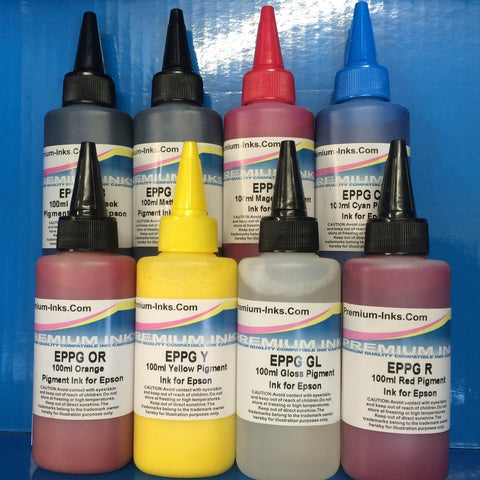 Pigment Refill Ink for Epson Puffin Cartridges