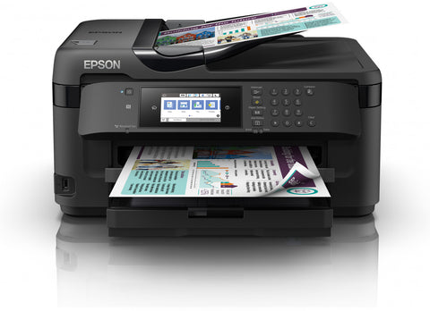 EPSON WorkForce WF-7715DWF All-in-One Wireless A3 Inkjet Printer with Fax