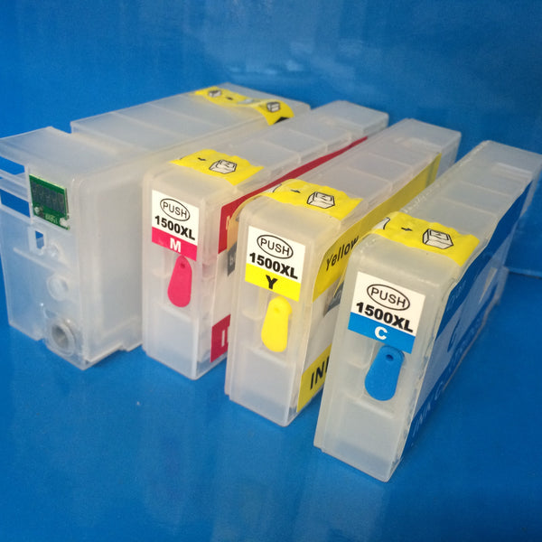 4 REFILLABLE EMPTY CARTRIDGES FOR CANON MAXIFY PGI 1500 XL MB 2000 2050 2350 3000 Non OEM