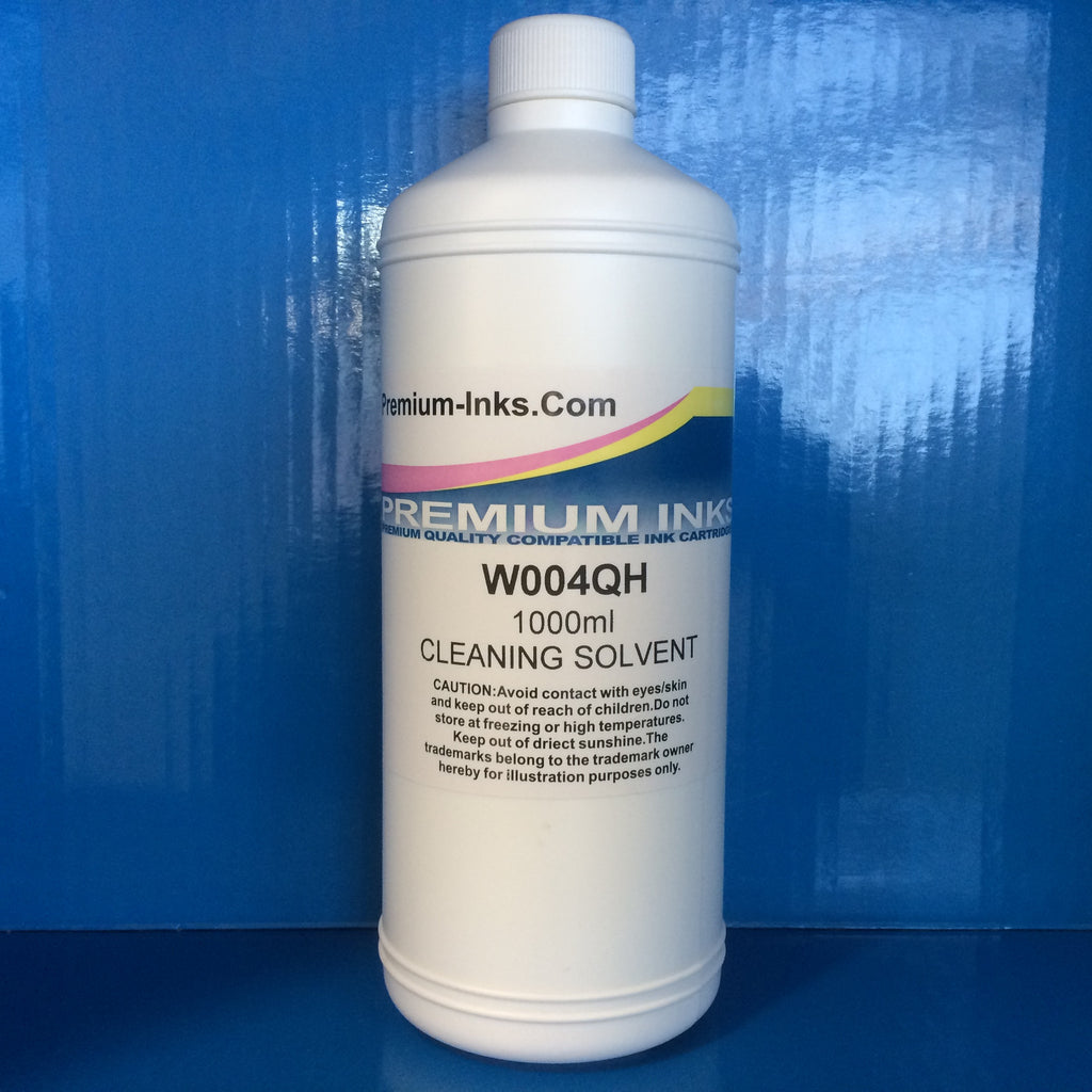 1 Litre Bottle PRINTER PRINT HEAD CLEANING SOLUTION CARTRIDGE CLEAN FLUID FLUSH