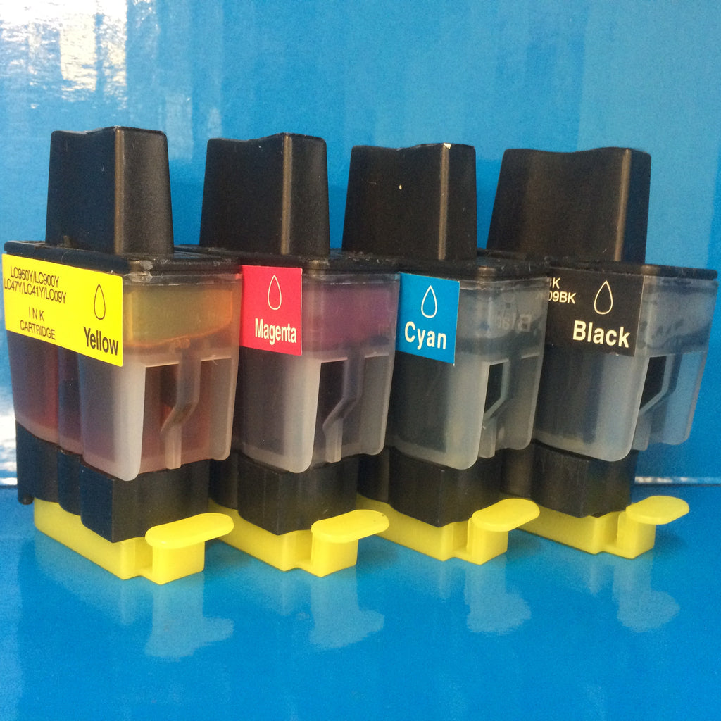 LC900 BROTHER INK CARTRIDGES SET MFC-5460CN MFC-5860CN etc. Non OEM