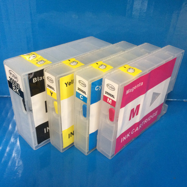 4 PGI-2500 xl REFILLABLE EMPTY CARTRIDGES FOR CANON MAXIFY iB4050 MB5050 MB5350 Non OEM
