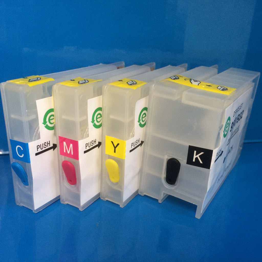HP 950/951 REFILLABLE REFILL INK JET CARTRIDGES WITH ARC AUTO RESET CHIP FITTED!