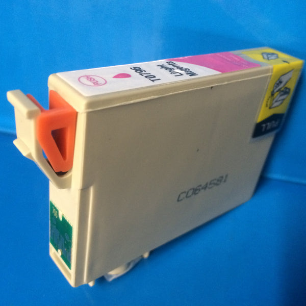 T0791-6 INKJET CARTRIDGES FOR EPSON STYLUS PHOTO R1400 R1500W Non OEM