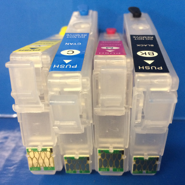 29 xl REFILLABLE EMPTY INK CARTRIDGES FOR EPSON T2991-4 XP235 XP245 XP335 XP345 ETC.