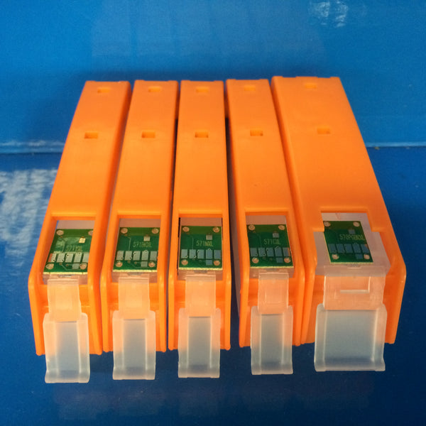 REFILLABLE CARTRIDGES CANON PGI-570 BK CLI-571 BK/C/M/Y Non OEM