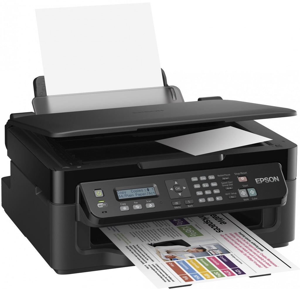 Epson WorkForce WF-2510WF Printer, Scanner, Copier, Fax