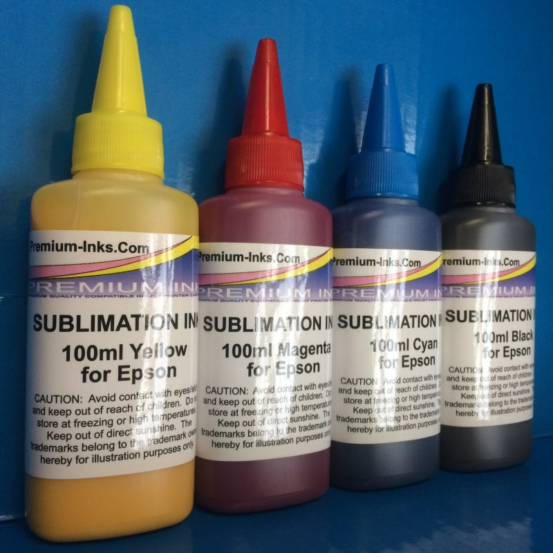 Sublimation Heat Transfer Refill Ink for use with Epson Printer Non OEM